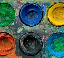 Painted Pallette No.5 by Orla Cahill Photography