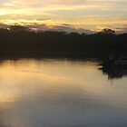 Evening Twilight on the Amazon by pjp500