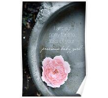Loss of a Precious Baby Girl Poster