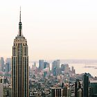 Empire State Building - New York City by simtmb