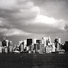 Manhattan Skyline by simtmb