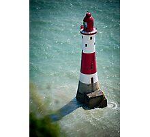 Beachy Head Lighthouse - Sussex, UK. Photographic Print