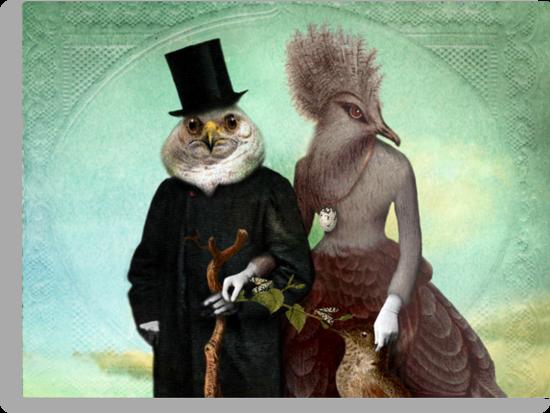 Mr. and Mrs. Schnabel by Catrin Welz-Stein