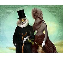 Mr. and Mrs. Schnabel Photographic Print