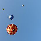 Puffy Planets - Hot Air Balloons by Edward Fielding