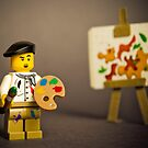 Painter Man by iElkie