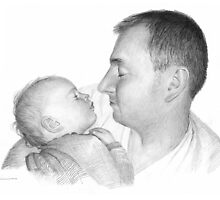 Daddy's angel by Mike Theuer
