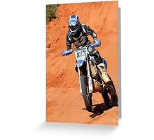 Bike X13 - Finke 2011 Day 2 Greeting Card
