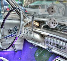 Steering Wheel of a 1962 Chevy by henuly1