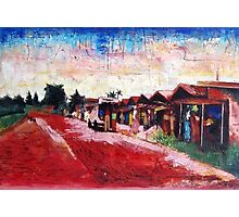 Old Red Sand Market Photographic Print