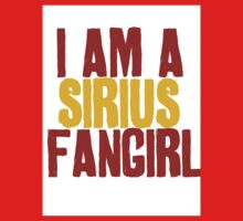 I Am a Sirius Fangirl Kids Clothes