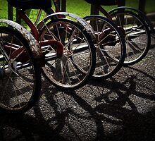 Rusty Tricycles by VivarFotografia