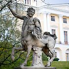 Pavlovsk Palace,  Statue of centaur  by torishaa