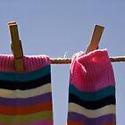 Stripy Socks by Wolf Kettler