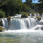 Krka falls at Krka National Park, Croatia. by machka