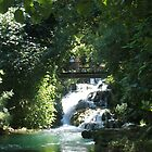 Bridge over Krka falls. by machka
