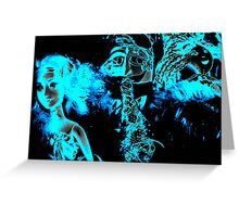 Neon Friends Greeting Card