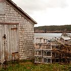 Boat Shed by Tom Allen