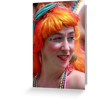 Portraits from The 2011 Coney Island Mermaid Parade-7  Greeting Card