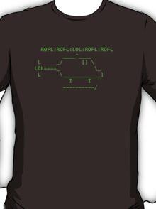 ROFLcopter VS The Matrix T-Shirt