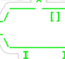 ROFLcopter VS The Matrix Sticker