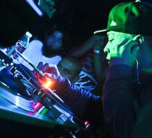 Turntablist Qbert in Houston TX by counterpartfilm
