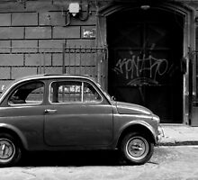Fiat 500 in Naples by Hollyis