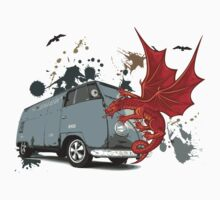 Dragon VW Van by jay007