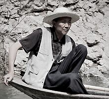 """. . """"pea boat"""" captain by outwest photography.co.uk"""