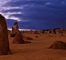 Nambung National Park Pinnacles Sunrise 3 by Jaxybelle