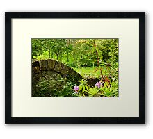 A green and pleasant place Framed Print