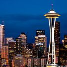 Twilight in Seattle by Janet Fikar