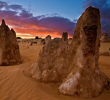 Nambung National Park Pinnacles Sunrise 8 by Jaxybelle