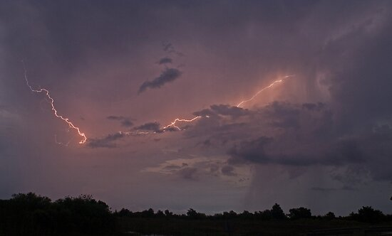 Garcias lightning by Larry  Grayam