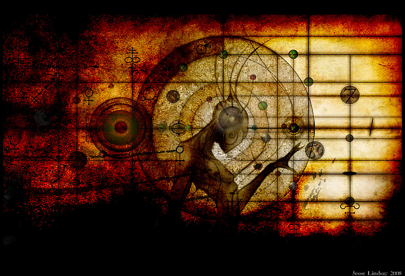 Alchecimal Surrealism by Jesse Lindsay 2011 by jesse lindsay