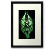 Absinthe Fairy 001 by Jesse Lindsay  Framed Print