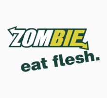 Zombie - Eat Flesh by bungeecow