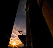 Silo Sunset by bazcelt