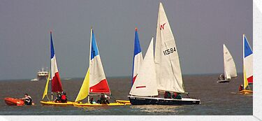 Sailing at Lowerstoft UK by MichelleRees