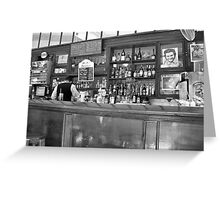 A Bar in Old Havana Greeting Card