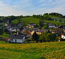 Markersbach Panorama by metronomad
