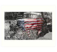 All American Classic Art Print