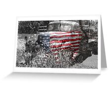 All American Classic Greeting Card