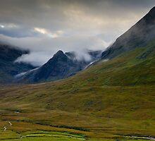 Minginish, Glen Brittle. Isle of Skye by David Lewins