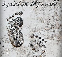Tiny Footprints by Franchesca Cox