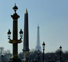Place de la Concorde - vertical composition by bubblehex08