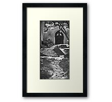 Old Taos Guesthouse Framed Print