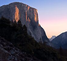 El Capitan at Sunset by MattGranz