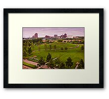 Gold Metal Park in Minneapolis Framed Print