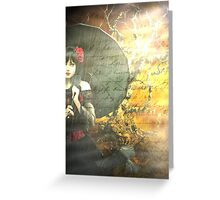 Heart Of Darkness, Soul Of Light Greeting Card